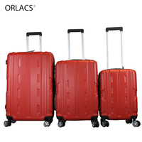 ORLACS 202428 Pull rod Aluminum Cabin Suitcase Spinner ABS Suitcase Trolley Luggage Business Boarding Case valise