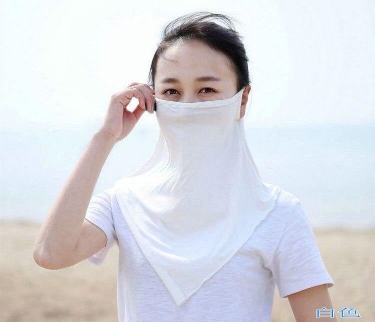 Respirar libremente Palio solar Anti uv gran Máscaras verano ...