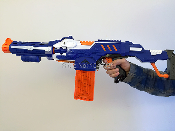 Nerf Gun N-Strike Yellow Maverick Rev-6 Revolver Pistol (Free Shipping)