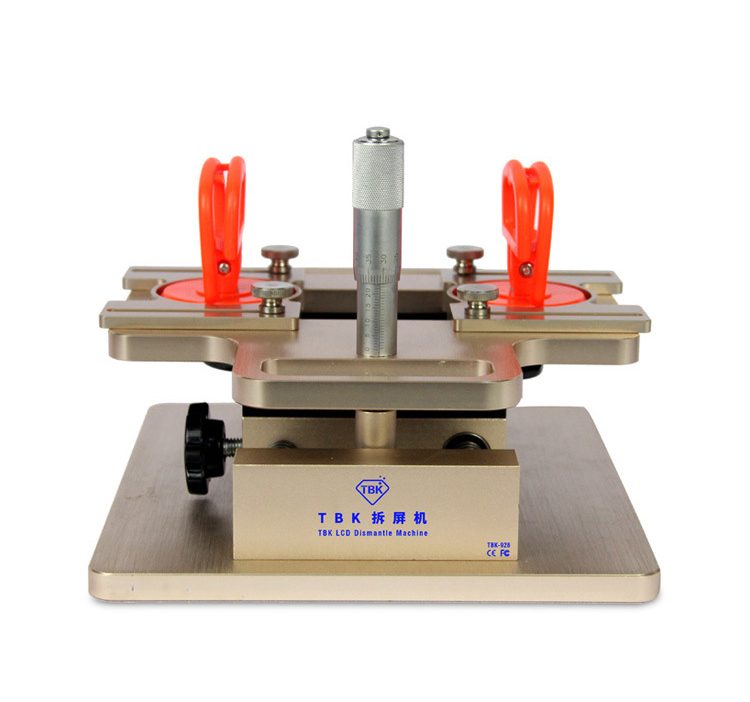 TBK-928 Adjust By Micrometer Cell Phone LCD Screen Dismantle Machine A-frame Separator For Samsung