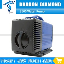 Free shipping CNC Router motor machine Water Pump 80w 220V 3.5m for cnc router water cooled spindle motor