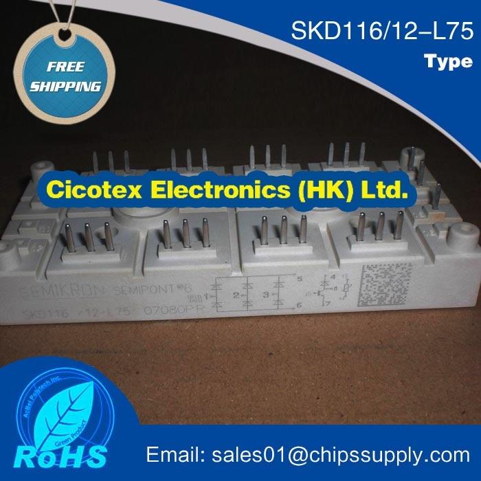 SKD116/12-L75 MODULE IGBTSKD116/12-L75 MODULE IGBT