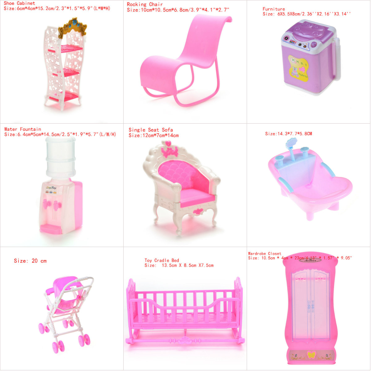 Sensational Us 1 0 17 Off 1Pcs Sofa Rocking Chair Bathtub Accessories For Dolls Kids Girls Role Play Toys Gift Chair Furniture For Dolls House Decoration In Unemploymentrelief Wooden Chair Designs For Living Room Unemploymentrelieforg