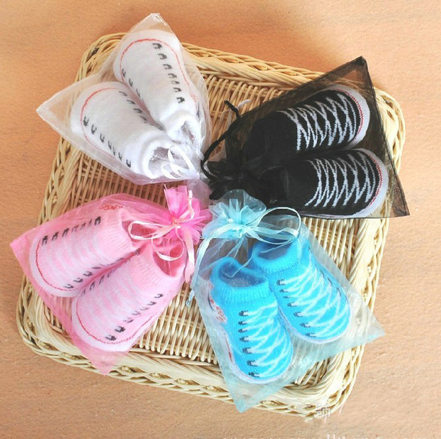 wholesale 6 pairs/lot Suitable for 0-6 months gift cotton Socks Indoor shoes sock New born Socks sock