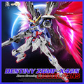 MODEL FANS INSTOCK DRAGON Seed Destiny Gundam Assembly version metal build mb destiny gundam contain wing toy action figure