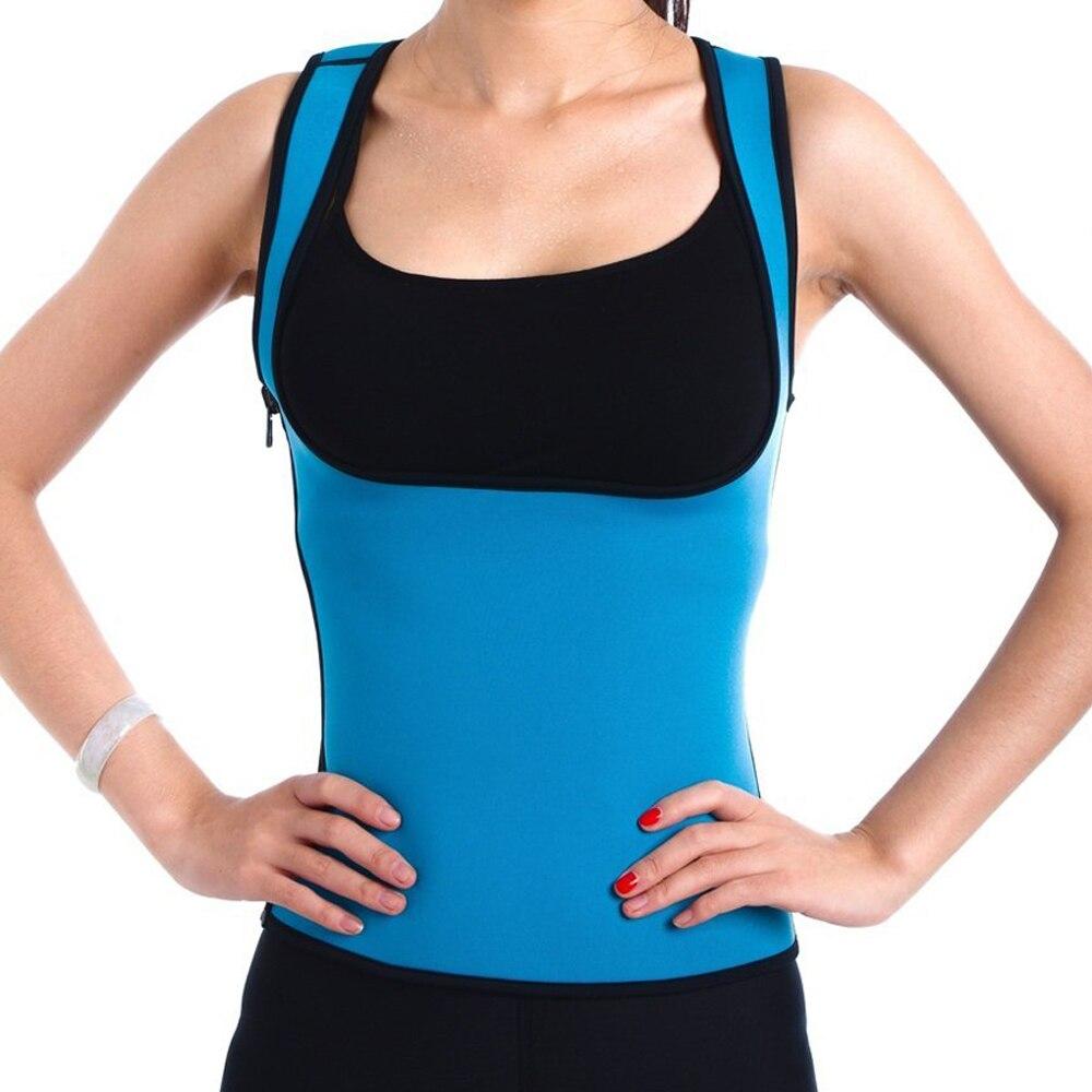 11b3405f0b New Fashion Women Neoprene Slimming Vest Belt Sweat Shaper Body Shaper  Weight Loss-in Waist Cinchers from Underwear   Sleepwears on Aliexpress.com