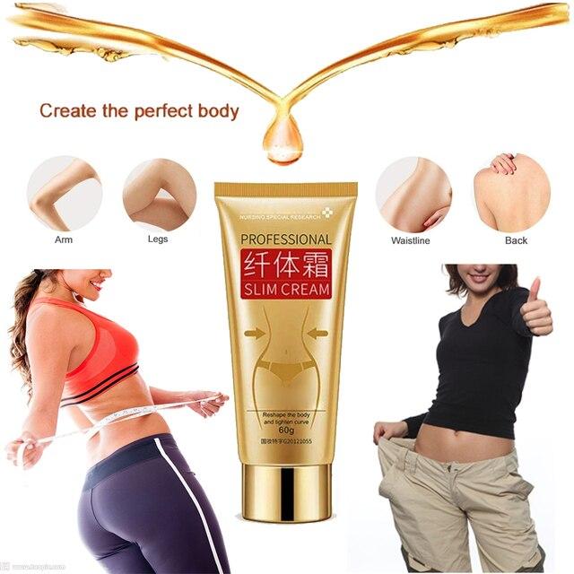 60g Body Slimming Cream Anti Cellulite Cream Fat Burner Weight Loss Creams Leg Body Waist Effective Anti Cellulite Fat Burning 3