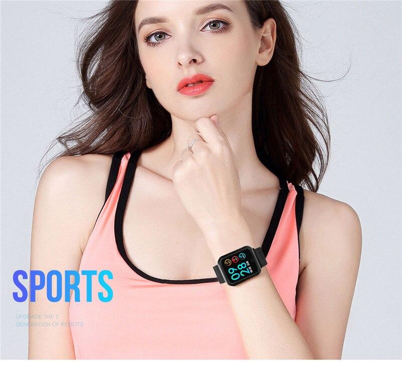 P68+earphone/set IP68 waterproof Smart Bracelet Wristband Heart Rate Monitor Fitness Tracker Watch Electronic Intelligent Clock 5