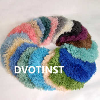 Dvotinst Baby Photography Props Real Wool Background Blanket Mat Basket Filler Newborn Fotografia Accessory Studio Shooting Prop - DISCOUNT ITEM  32% OFF All Category