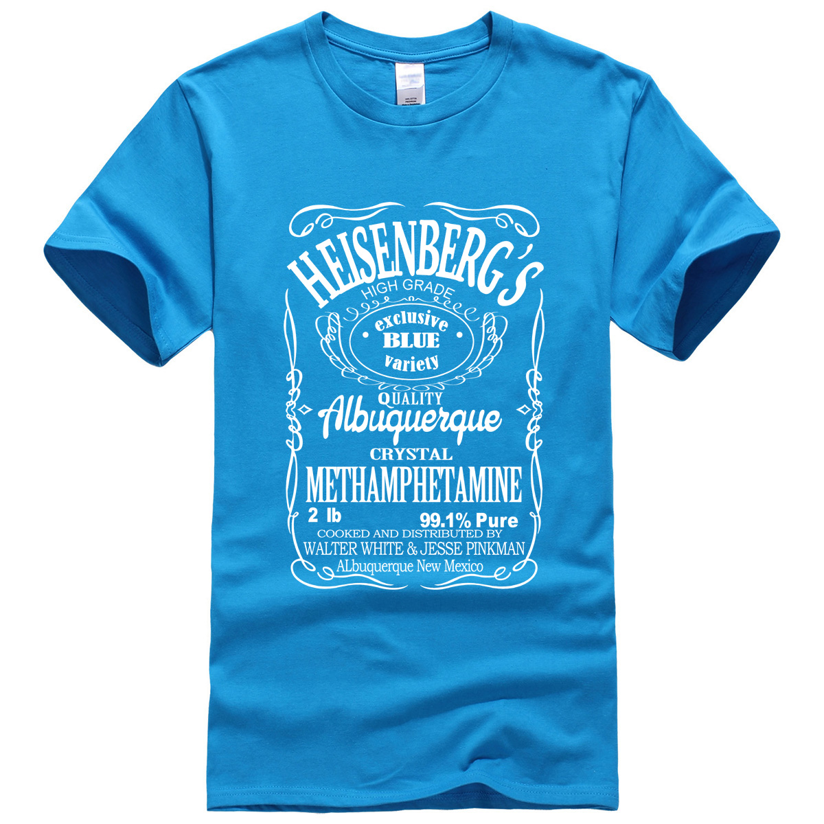Men's T-Shirt Summer 19 Print BREAKING BAD HEISENBERG
