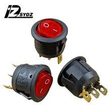 Электрический котел сохранение тепла переключатель режимов KCD1 круглый сохранение тепла переключатель из чистой меди 3 фута