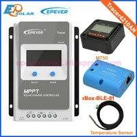 Tracer Солнечная зарядка управление Лер MPPT 40A В 12 В 24 В ЖК панель зарядка управление Лер напряжение управление USB и temperaturer