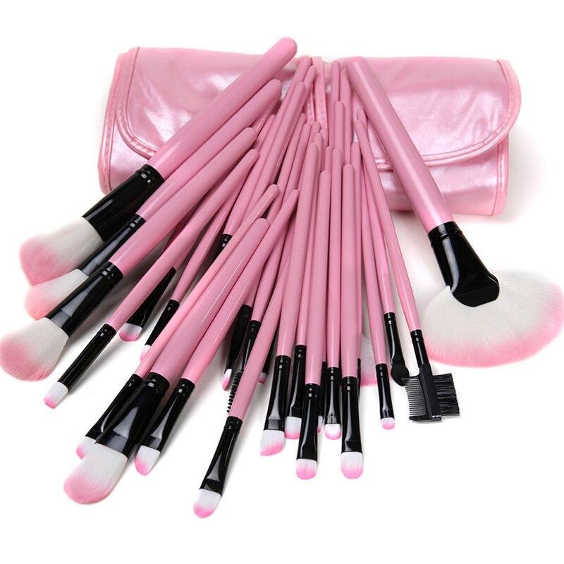 32 Pcs Professional Makeup Brushes Bag Set Kits Make Up MULTIPURPOSE Eyeshadow Powder Brushs With Bags