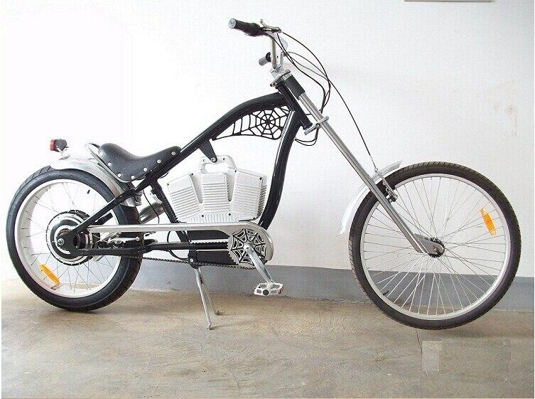 Роскошный электрический велосипед Черный Красный Супер творческий Электрический велосипед 48 В 500 Вт + 48 В 10AH литиевые аккумуляторные электр...
