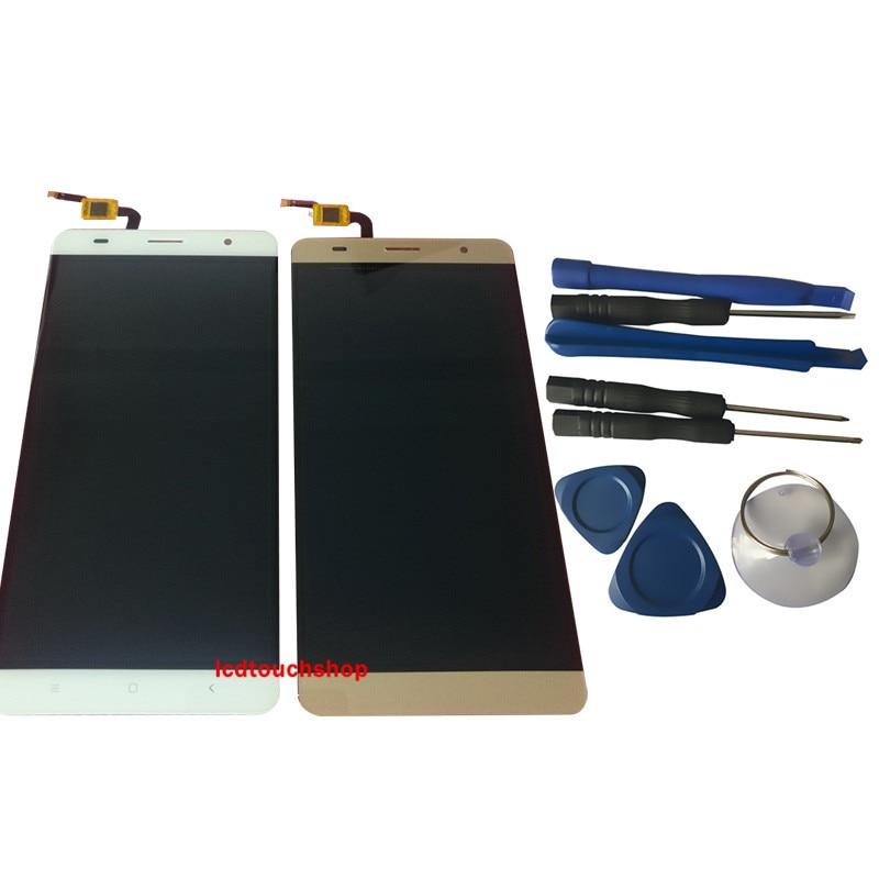 Nouveau Pour Wellphone S1 S2 S3 S6 écran lcd Avec écran tactile remplacement du numériseur Avec Des Outils Or Blanc Couleur