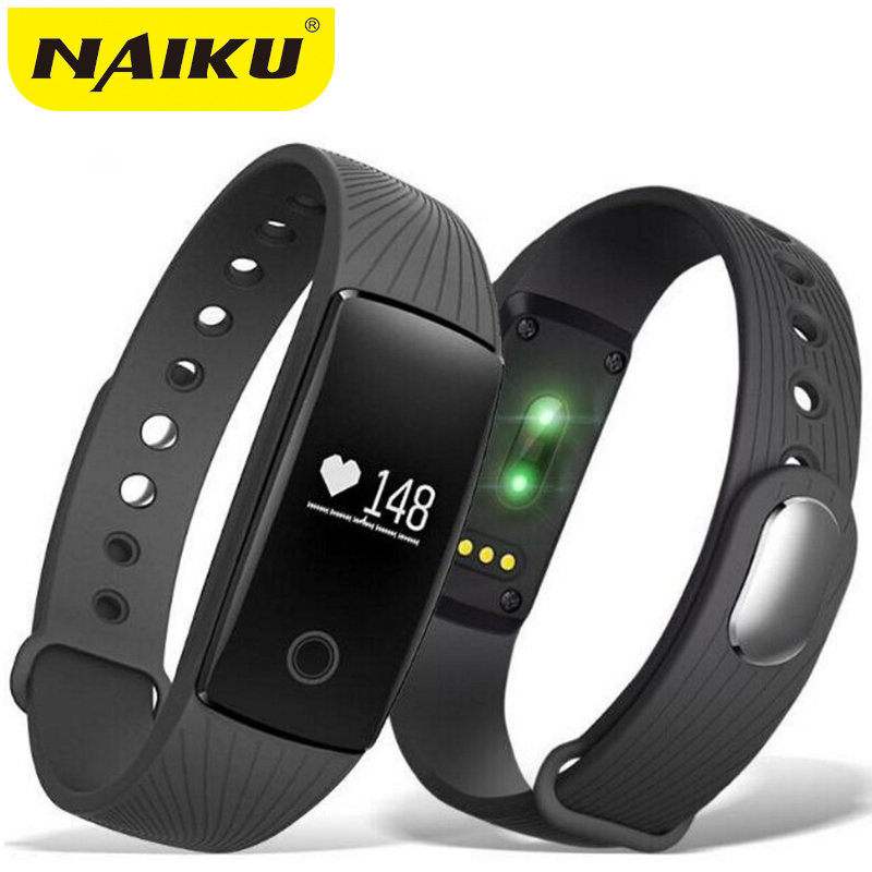 Smart Wristband Heart Rate Monitor IP67 Sport Fitness Bracelet Tracker Smartband Bluetooth For Android IOS PK miband 2 ID107