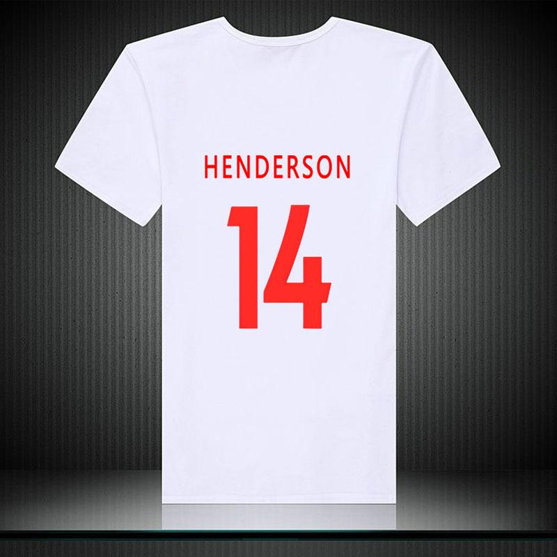 Liverpool NO.11 2018 salah best player footballer and golden boot man High Quality t shirt