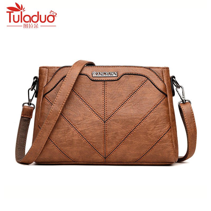 2018 New Fashion Women Messenger Bags High Quality Female Shoulder Bag Designer Pu Leather Women Handbags  Women Crossbody Bag hanup new high quality women clutch bag fashion pu leather handbags flap shoulder bag ladies messenger bags crossbody purse