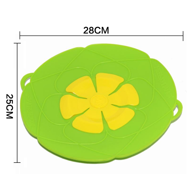 Best kitchen tools Flower Silicone lid Spill Stopper