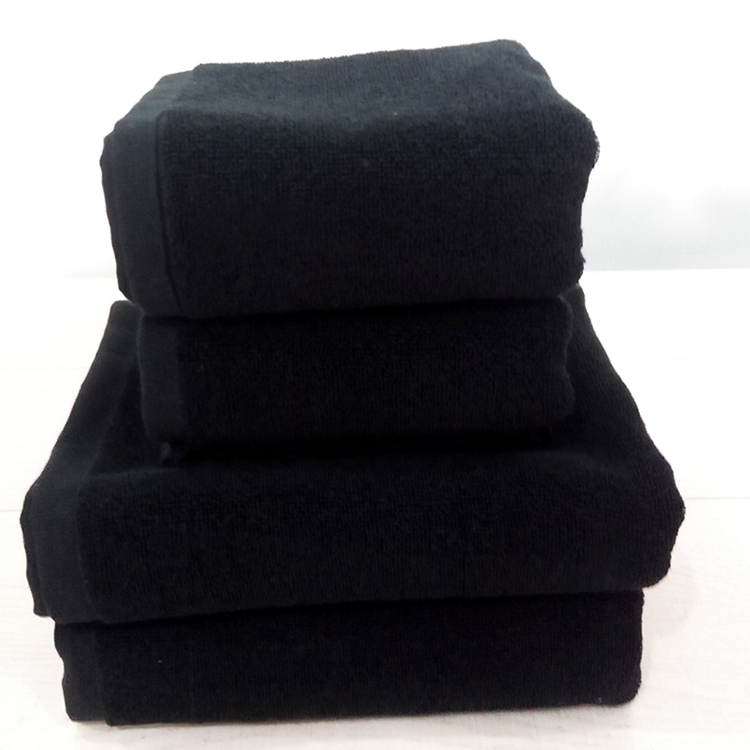 black towel _01-750