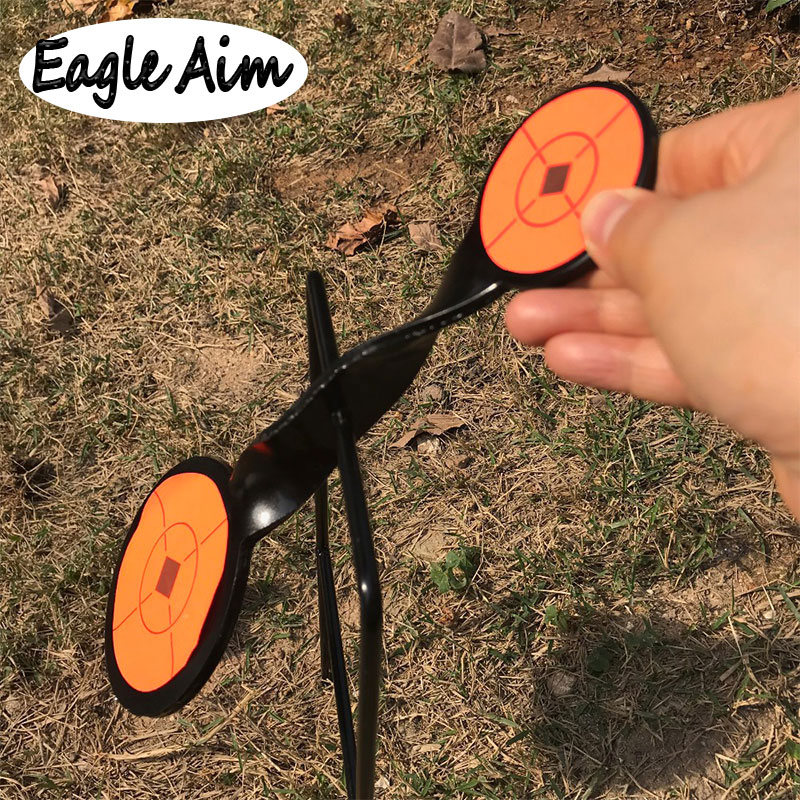 Cible de tir au pistolet épaisseur 4mm/également pour. 22 rimfire pistolet Paintball tir à l'arc/amélioration de la chasse