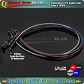 1000mm-2000mm Motorcycle Braided Steel Hydraulic Reinforced Brake Clutch Hose line Brake Oil Hose Pipe fit dirt pit bike ATV