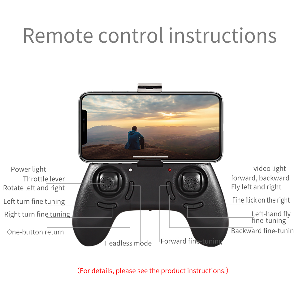 SMRC S6 RC Mini drone Professional Smart follow me Helicopter wifi drones with camera HD FPV 7P pocket Helicopter toys child 18