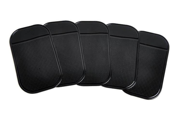 50 pcs/lot  Powerful Silica Gel Magic Sticky Pad Anti-Slip Mat for Phone PDA mp3 mp4 Car  Free Shipping #CMSA