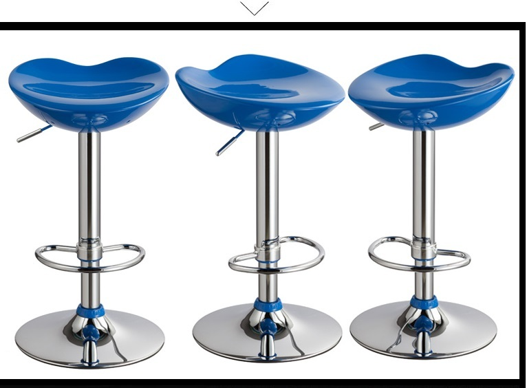Blue color hair salon stool Hbarber airdressing salon lift rotation chair retail wholesale free shipping hair salon chair green red color hair dressing shop stool free shipping