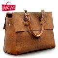 BVLRIGA saco famoso designer da marca de couro Genuíno sacos de bolsas de couro das mulheres ombro saco da forma das senhoras mulheres messenger bags