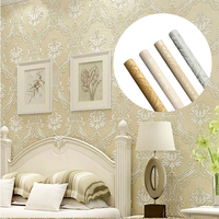 3D Modern Wall Paper For Bedroom Living Room TV Background Striped Wallpaper Mural Wall Self Adhesive