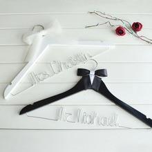 Свадебная проволочная вешалка на заказ, Свадебная Вешалка, подарок для невесты, для жениха, индивидуальная вешалка для свадебного пальто, вешалка для костюма жениха