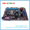 NUEVO kit con i5 750 cpu Placa Base h55 LGA1156 DDR3