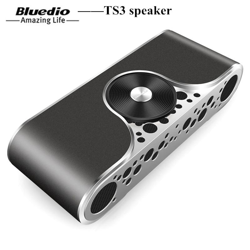 Bluedio TS3 Portable Bluetooth Speaker Wireless Speaker SD Card Sound System 3D Stereo Music Surround Wireless Music Loudspeaker jy 3 outdoor wireless bluetooth speaker loudspeaker music speaker