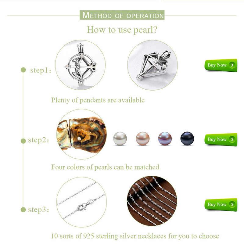 Вакуумная упаковка 6-7 мм Круглый Akoya жемчуг в серовато-белый розовый лаванда черный с морскими жемчужинами fit 925 стерлингового серебра ожерелье DIY