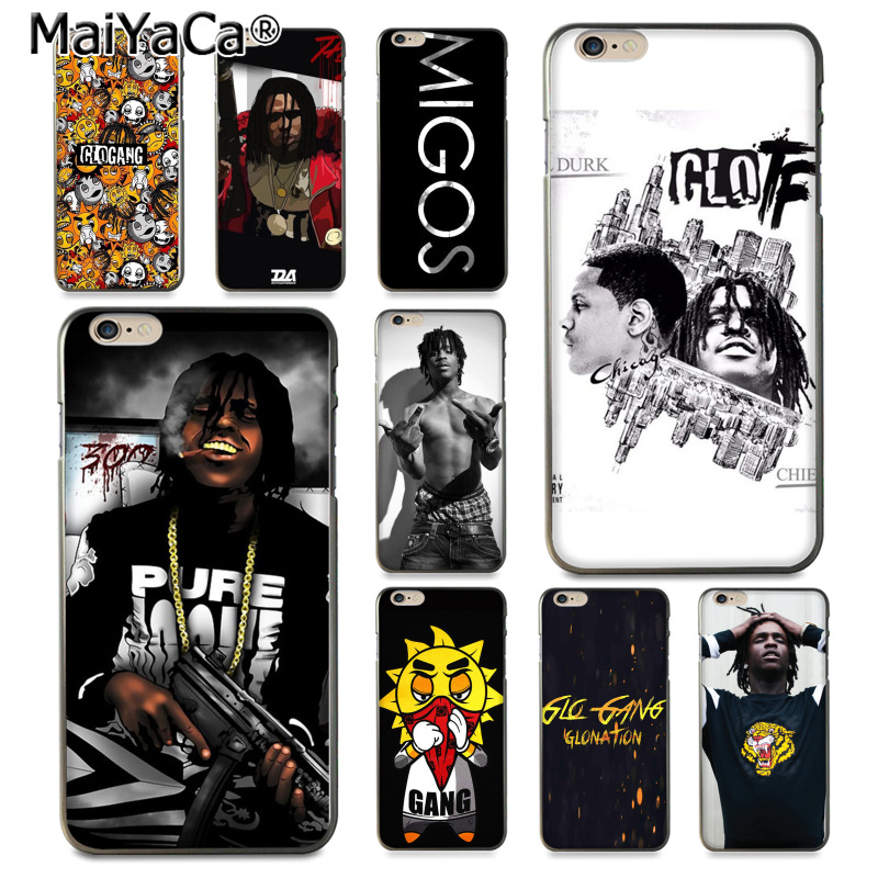 MaiYaCa Glo Gang And Chief Keef Special Offer Luxury phone case for iPhone 8 7 6