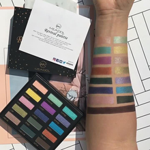 Miaool 15Colors Eye shadow Palette Matte Shimmer Eyeshadow Blusher Makeup Set Beauty Cosmetics Maquillage Yeux