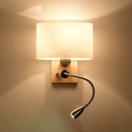 Nordic style wall lamp modern home lighting creative wall - Bedroom reading lights wall mounted ...