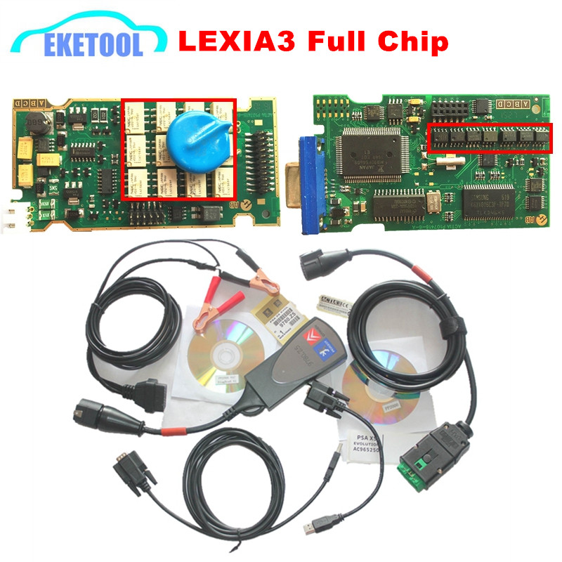 Super Firmware Reference 921815C Full Chips Gold Edge Lexia3 PP2000 PSA XS Evolution Diagbox V7.83 Lexia For CitroenPeugeot