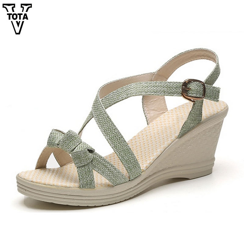 VTOTA Fashion Sandals Women Platform Shoes Woman Wedges Casual Women Shoes Increasing Open Toe Fish Head Women Summer Shoes R10 women sandals 2017 summer style shoes woman wedges height increasing smile fashion gladiator platform female ladies shoes casual