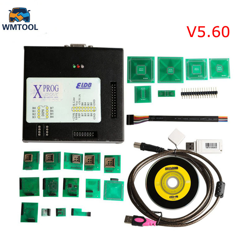 где купить High quality xprog 5.60 ECU Chip Programmer X-PROG-M BOX V5.60 xprog-m 5.6 with USB Dongle Free Shipping по лучшей цене