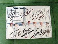 hand signed MONSTA X autographed photo ARE YOU THERE 5*7 102018