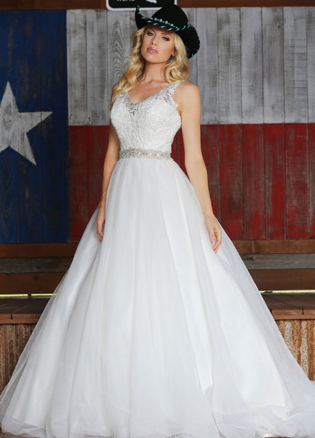 Budget Wedding Dresses A Line Flores Para Noivas V Neck Lace Top With Beading Bridal Gowns