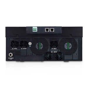 Image 4 - POWLAND Bluetooth 10Kw параллельно инвертор 220V 48v солнечный инвертор MPPT регулятором солнечного Зарядное устройство неэлектрифицирован инвертор синусоидального колебания 80A Батарея Зарядное устройство