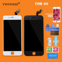 YWEWBJH Grade AAA LCD Screen Digitizer For IPhone 6S Display With 3D Touch Digitizer Glass Replacement