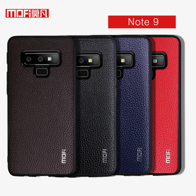 MOFi Samsung Galaxy Note 9 PU Leather Hard Back Case Cover
