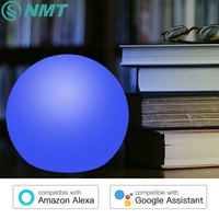 Touch Control Wifi Smart Voice Control Night Light RGB USB Led Dest Lamp Waterproof Table Light for Home and Bed Room