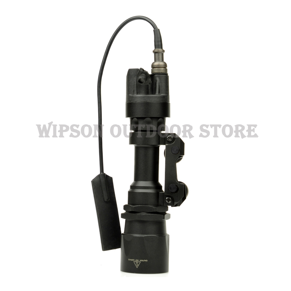 WIPSON SF M951 Tactical Light LED Version Super Bright Flashlight With Remote Pressure Switch Controller Hunting Lights