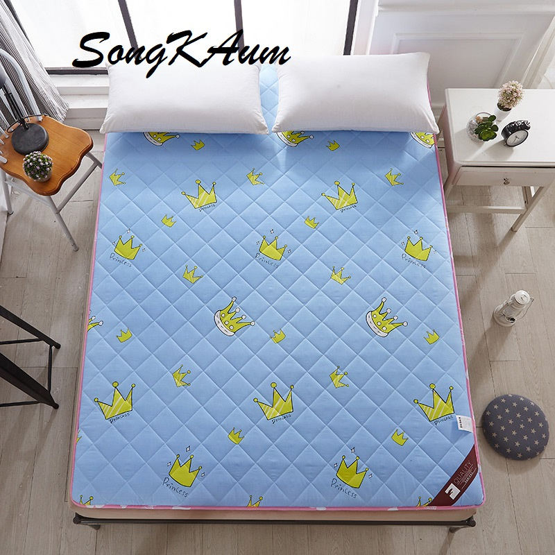 SongKAum New Style High Resilience Memory Tatami High Quality Warm Comfortable Bedroom Grinding and Thickening Printing Mattress