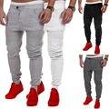 Los Hombres ocasionales Del Basculador Danza Sportwear Baggy Harem Pantalones Pantalones Deportivos L